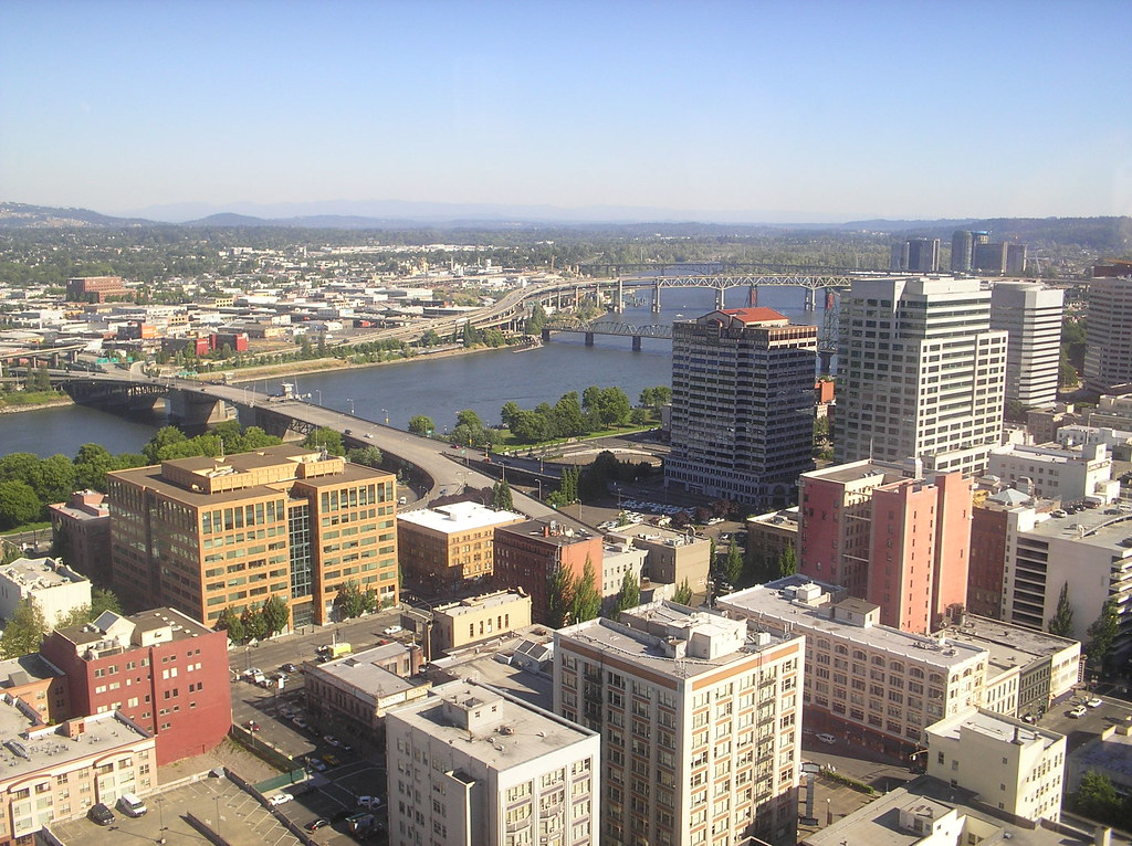 View from the portland city grill aimee alvarez flickr - Camera world portland ...