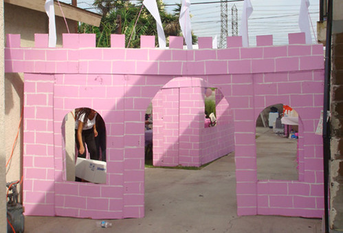 How To Make A Cardboard Castle For Kids
