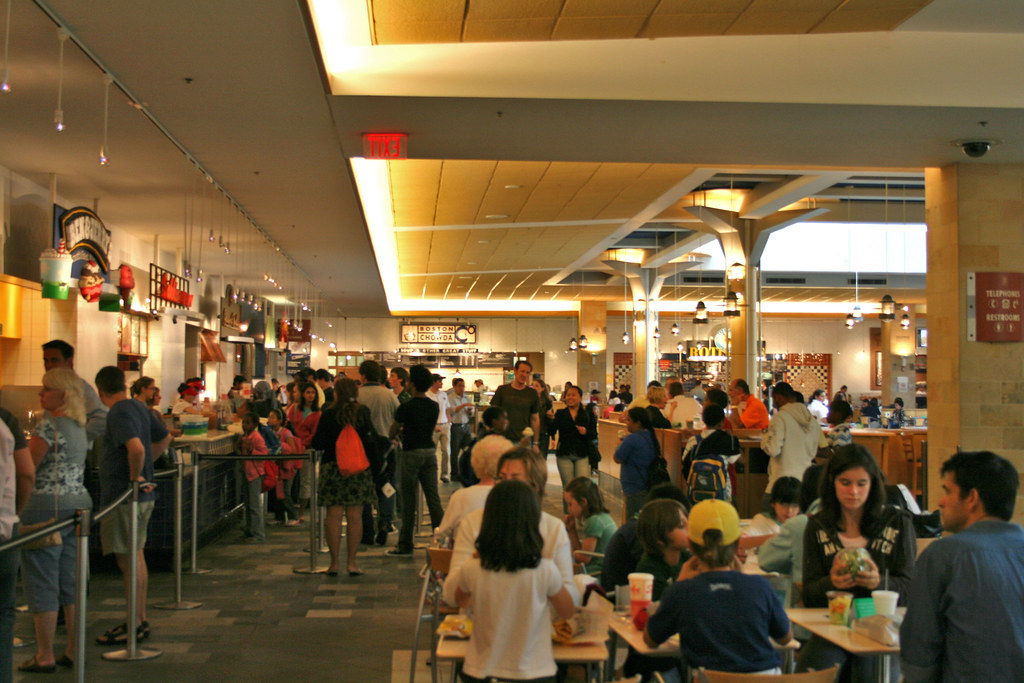 Prudential Center Food Court