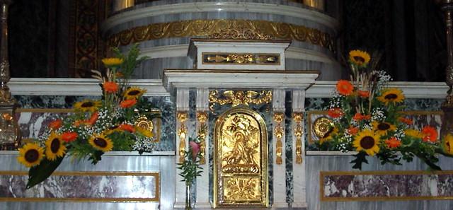Matrimonio Girasoli E Spighe : Altare girasoli gerbere e spighe il tulipano i fiori