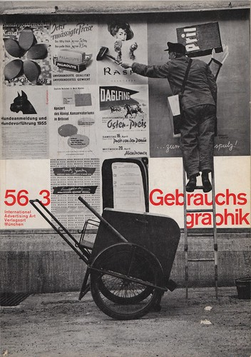 Gebrauchsgraphik 1956 03 Cover | by bustbright