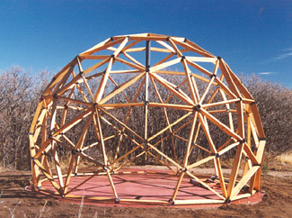 Worldflower Dome Timber Framed Geodesic Dome