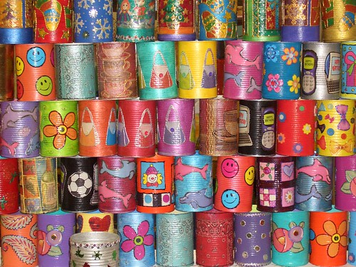 Decorative Tin Cans 1 | by lubsy1uk