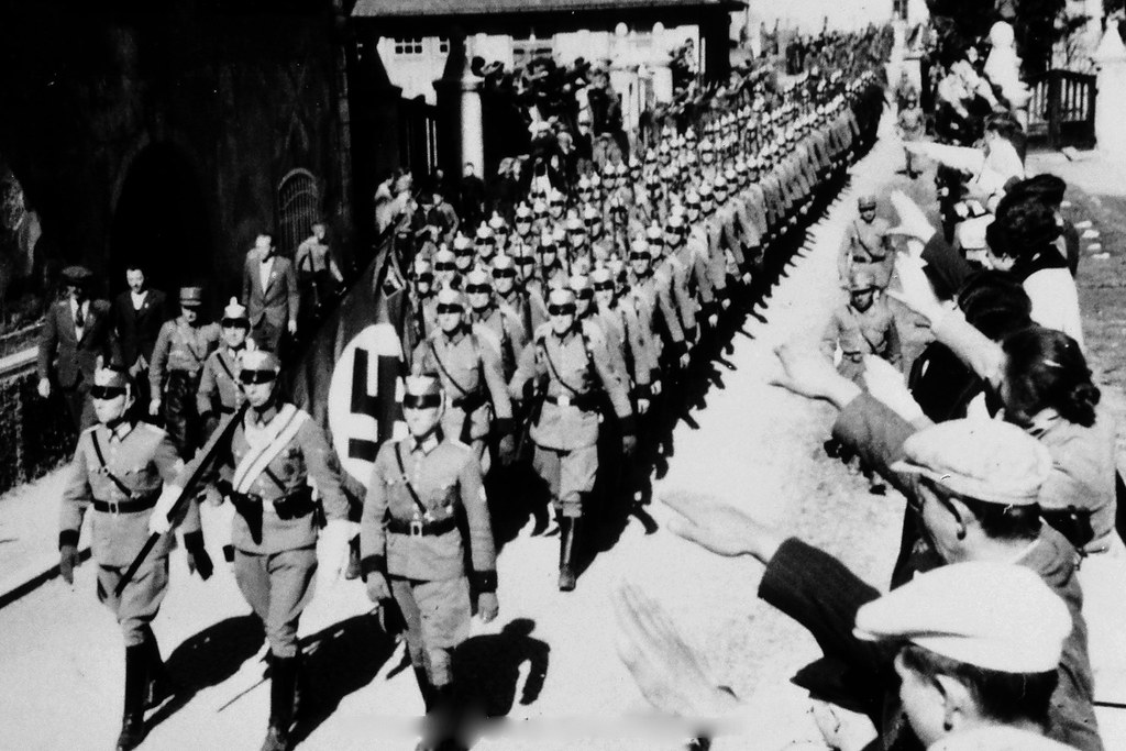 Why did germany invade austria?