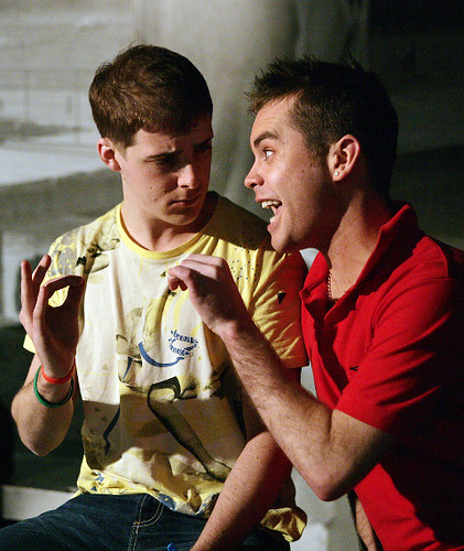 Harry Hepple And Aaron Foy In I Caught Crabs In Walberswic