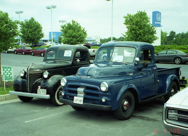 1940 Plymouth And 1952 53 Dodge Pickups Chrysler Product
