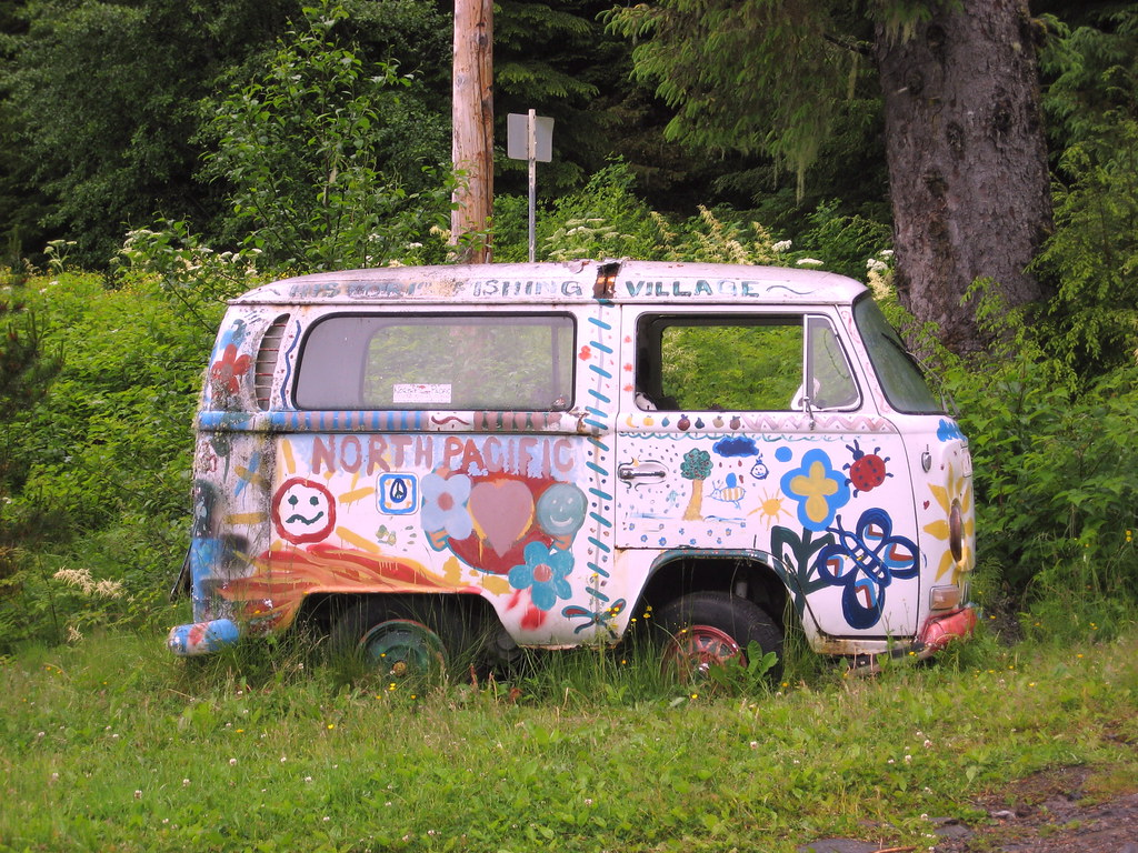 hippie bus a volkswagen type 2 van early volkswagen. Black Bedroom Furniture Sets. Home Design Ideas