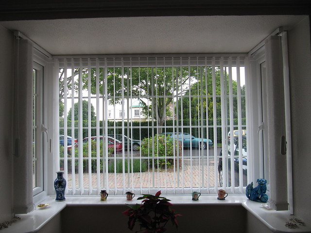 Vertical Blind In A Bay Window Flickr Photo Sharing