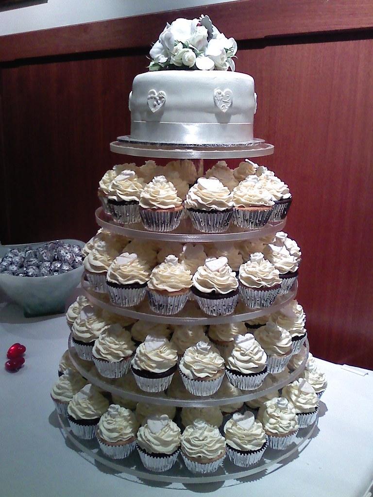 Wedding Cake Cupcake Pan