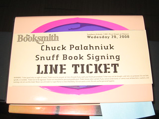 chuck palahniuk snuff tour | by lizclink