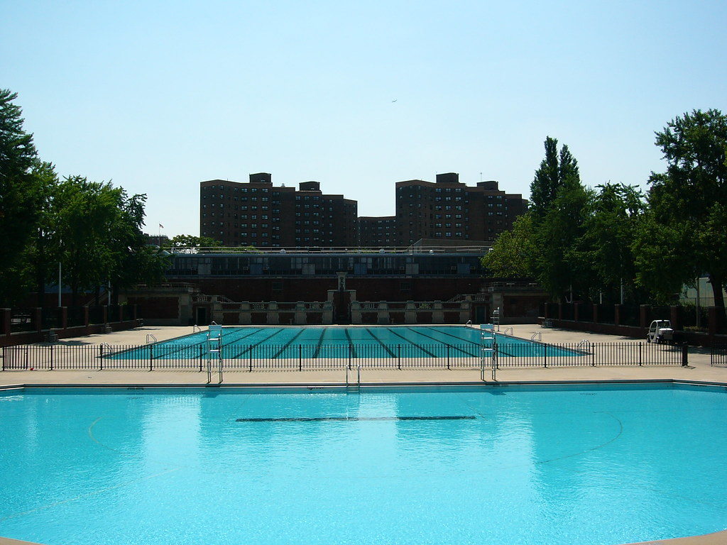 Hamilton Fish Swimming Pools Just Days Before The City Poo Flickr
