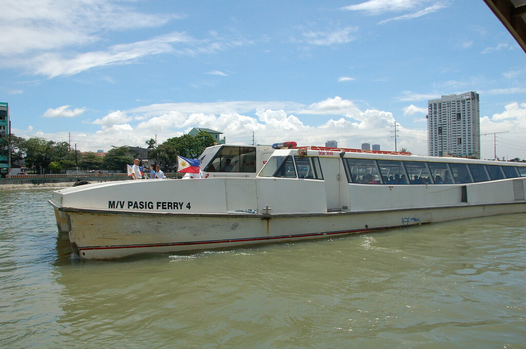 Pasig River Ferry Schedule Pasig River Ferry Service
