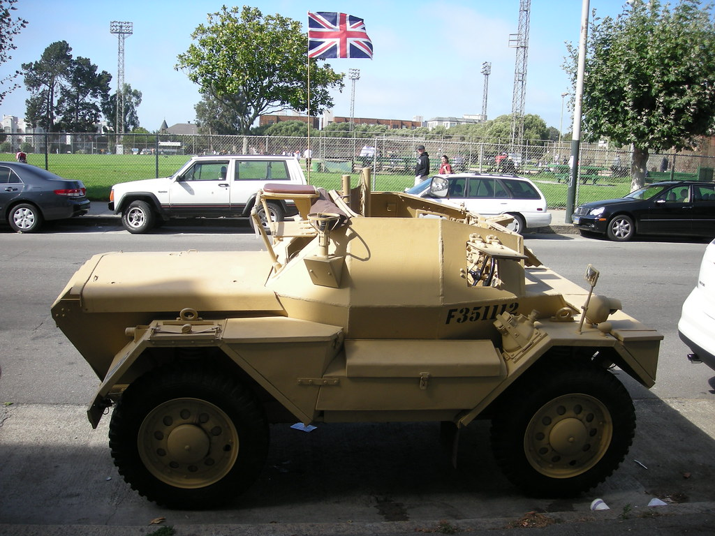 British armoured fighting vehicle production during world for British motor cars san francisco