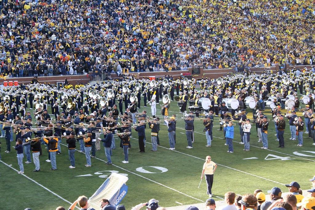 Michigan Marching Band Cake