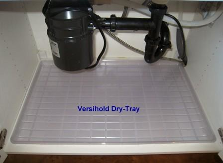 Under The Sink Dry Tray Fits Standard 36 Quot Sink Cabinet