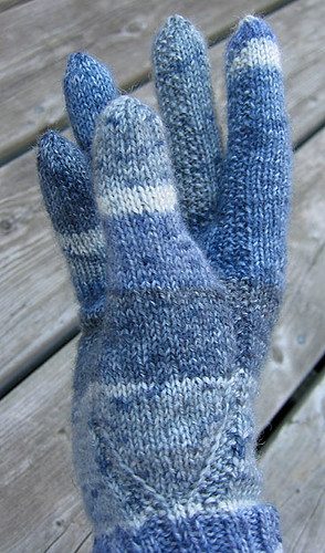Knitting Arthritis : Gloves for arthritic hands detail my mother