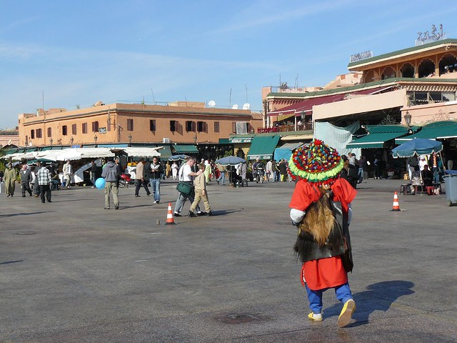 Plaza Jemaa el-Fna de Marrakech (Marruecos)