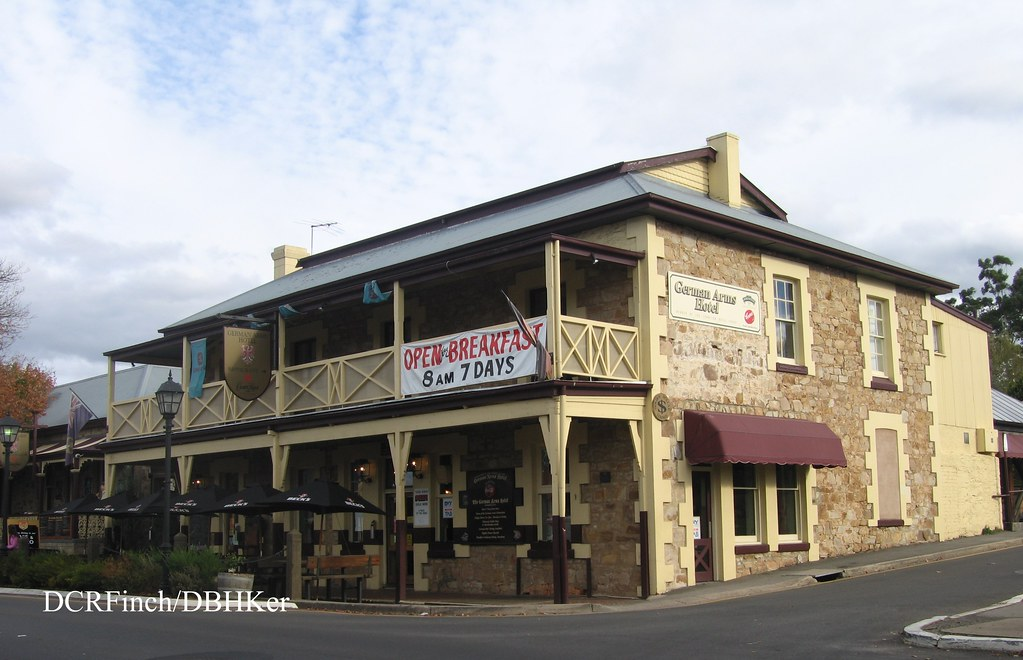 german arms hotel hahndorf sa main street hahndorf. Black Bedroom Furniture Sets. Home Design Ideas