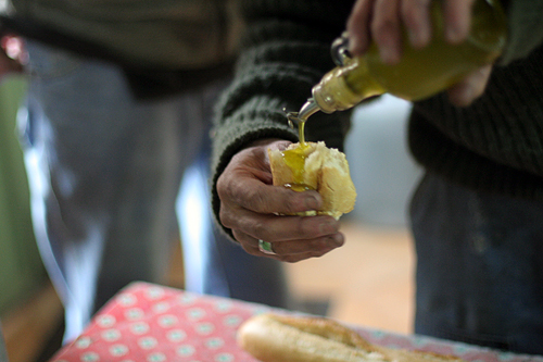 olive oil & bread | by David Lebovitz