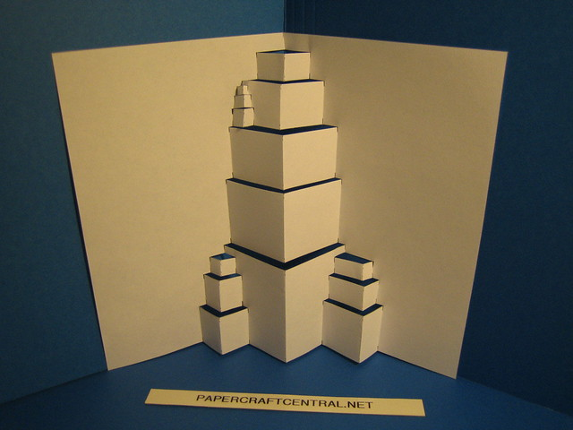 Kirigami Buildings For More Visit Papercraftcentral