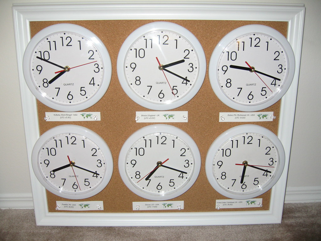 World Clock Wall Board When I Learned How Expensive
