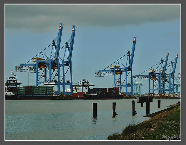 Zeebrugge le port a conteneurs zeebruges est l 39 un for Port zeebrugge