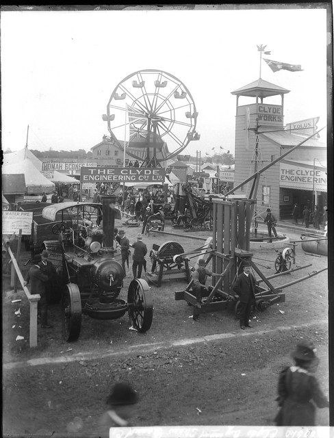 Clyde Pavilion Royal Easter Show Format Glass Plate