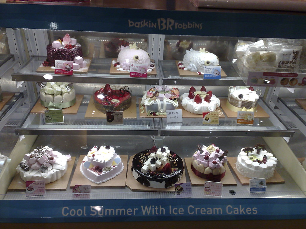 Ice Cream Cake Baskin And Robbins In Auburn Wa