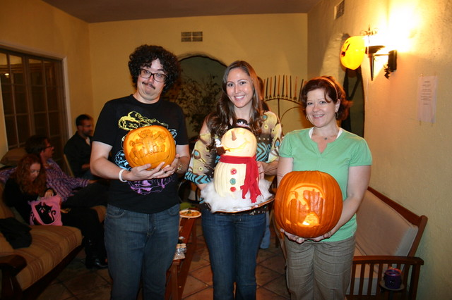 Pumpkin carving party mark englert