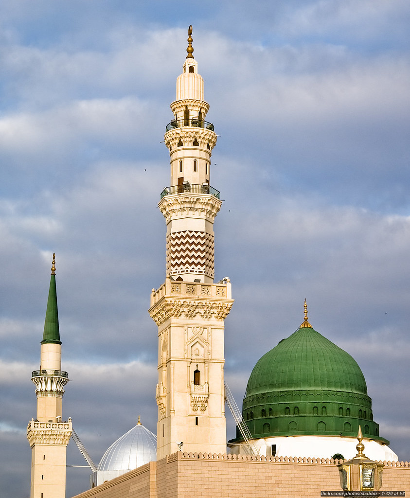 Masjid Nabawi (Prophet's Mosque) | Medina, Saudi Arabia ...