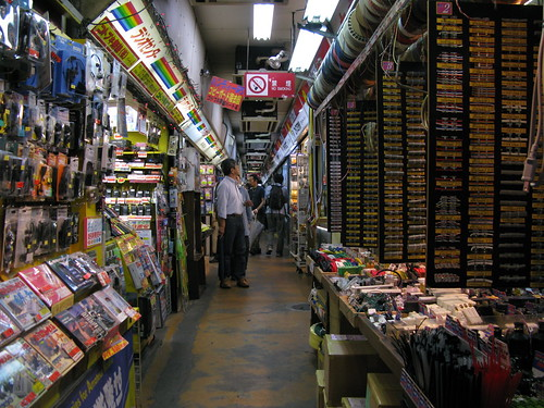 components mall in Akihabara | by ranjit