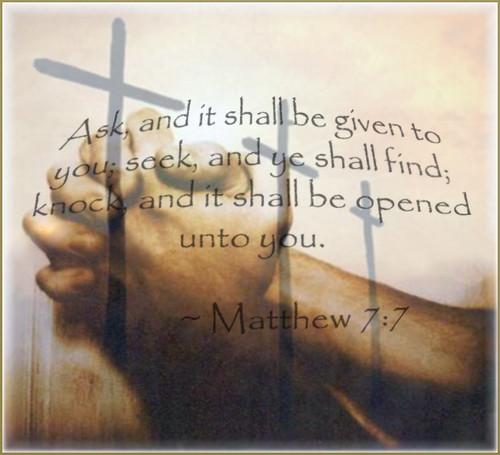 matthew 77 i wanted to focus on prayer today i felt