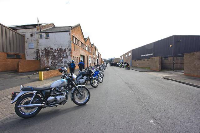Bracebridge Street   Site of the former Norton Motorcycle ...