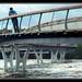 New bridge takes the flood