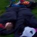 Josh still asleep 5.40am 30th August