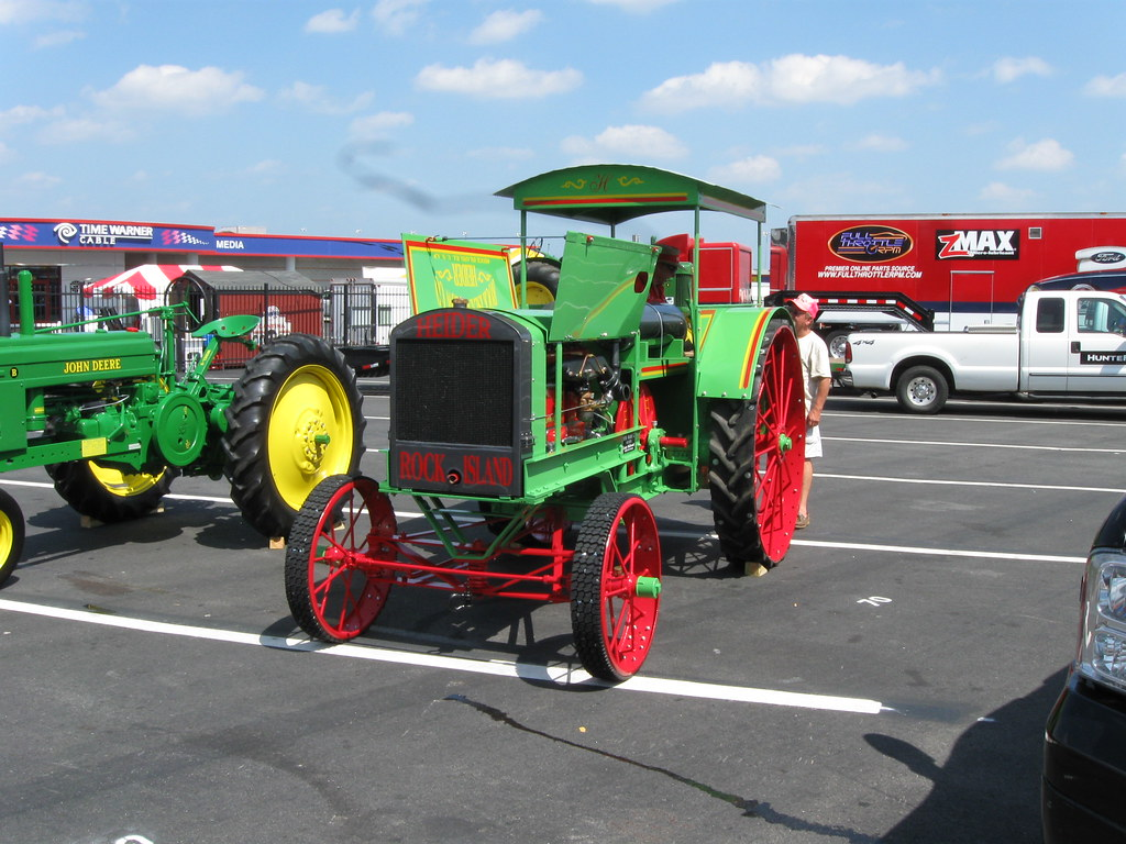 Tractor And Car Show : Food lion auto show charlotte nc heider tractor