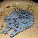 Lego Millennium Falcon @ Mos Eisley, Tatooine