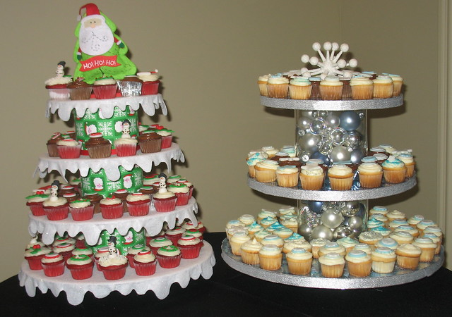 Christmas cupcake stands flickr photo sharing
