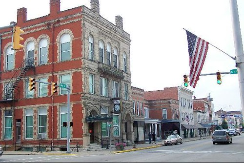 beautiful downtown brookville indiana j stephen conn