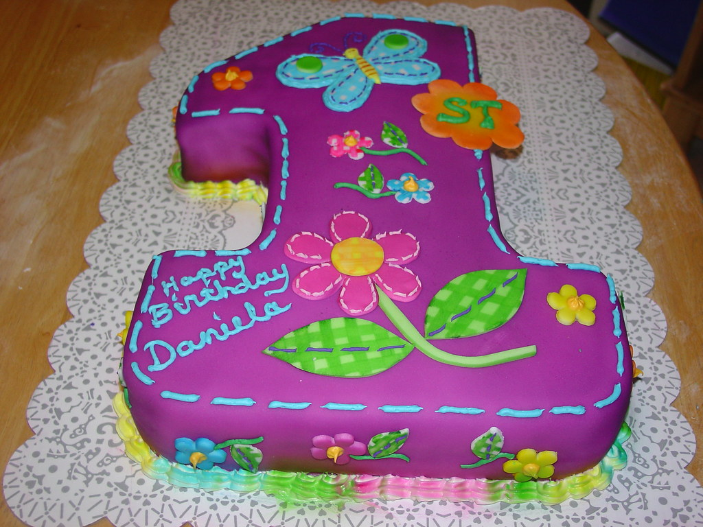 First Birthday Cake Images For Girl Dmost for