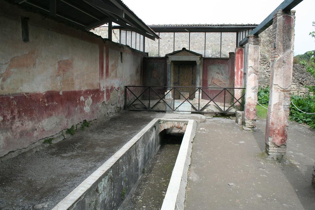 House Of Loreius Tiburtinus Pompeii Peter Stewart Flickr