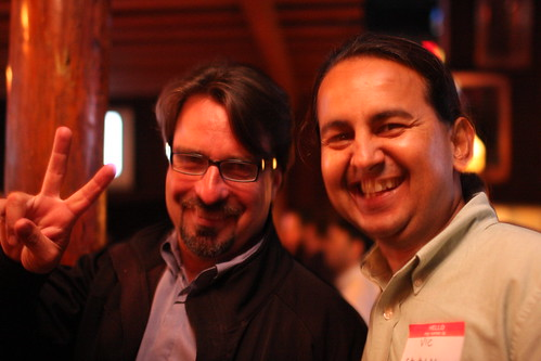 DEMO 2008 Reunion - John Furrier and Vic Podcaster | by b_d_solis