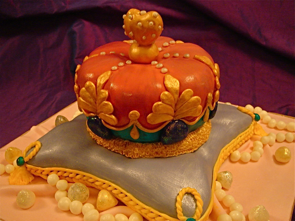 Cake With Crown On It : Jewelled Crown cake Crown adorned with sugar diamonds ...