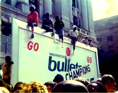The Bullets received the key to the city from Mayor Walter Washington | by Michael6076