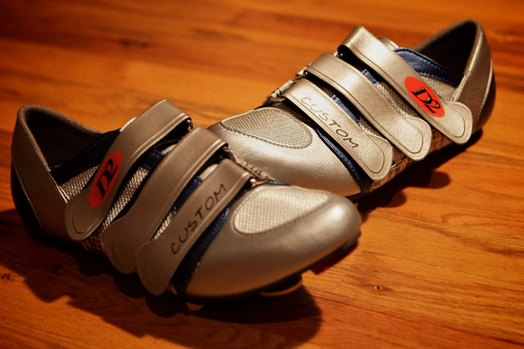 D2 Custom Cycling Shoes Edmund White Flickr.