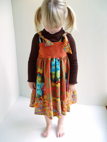 Pumpkin Pie Dress | by littlegirlPearl