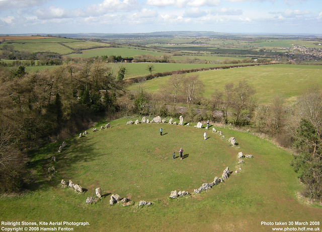 The Rollright Stones, Oxfordshire, England - The rollright ... |Rollright Stones Oxfordshire