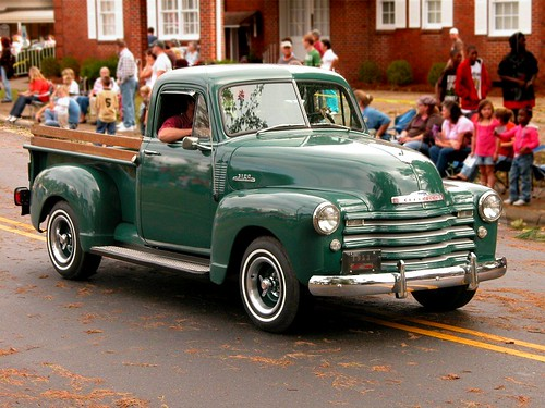 Antic Cars For Sale >> Yam Festival Parade - 1953 Chevy 3100 pickup truck | Flickr