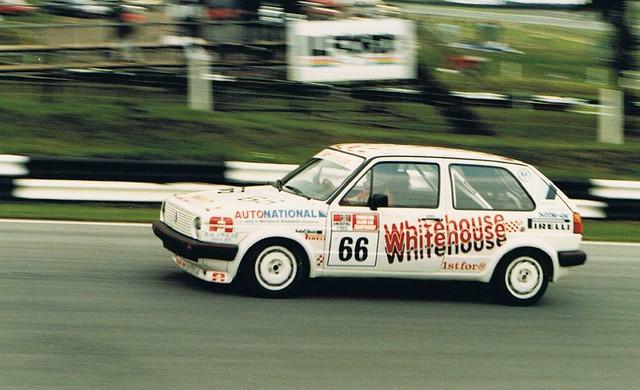 Steve White Vw >> Vic Lee racing VW Golf GTI   Racing in the Uniroyal group ...