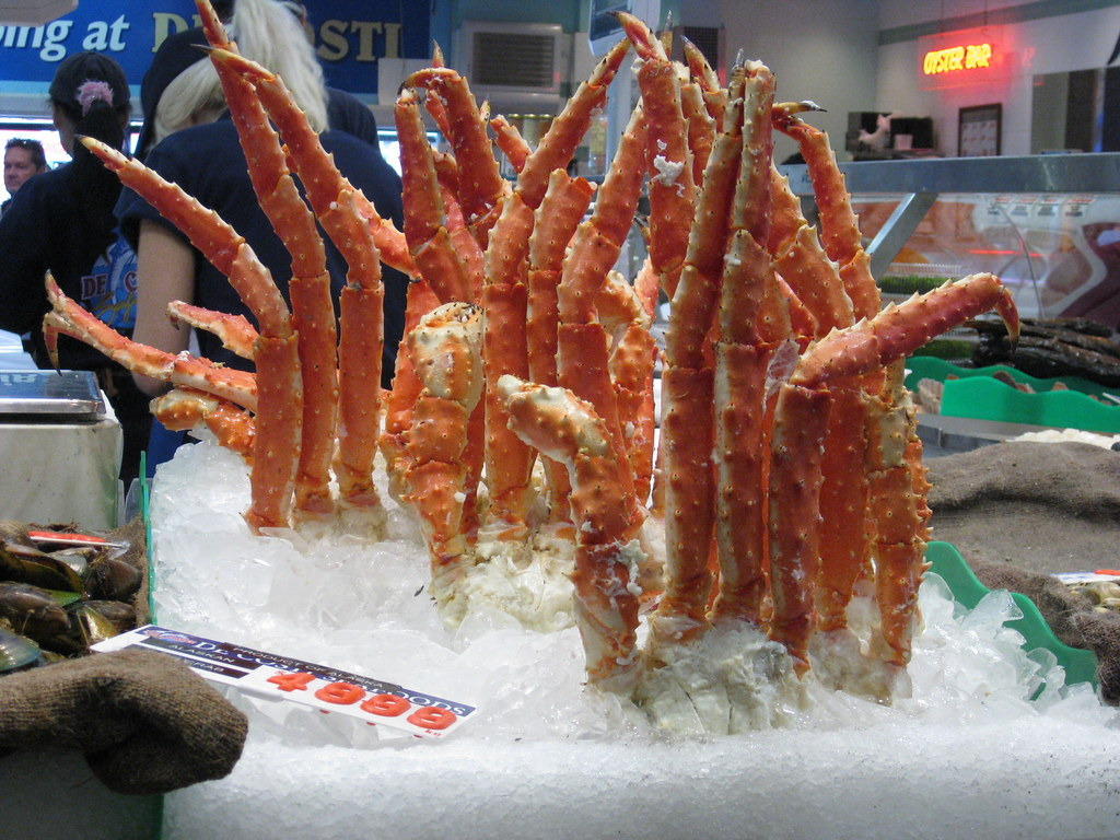 KING CRAB!!!!!! | I've never seen King crab sold at the ... Fish